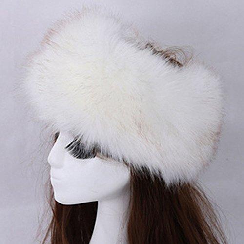 Russian White Winter Hat - 8