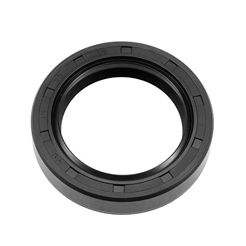 (uxcell Oil Seal, TC 35mm x 50mm x 10mm, Nitrile Rubber Cover Double Lip)