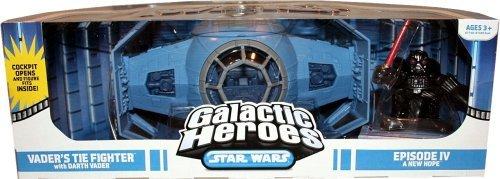 Star Wars Galactic Heroes Cinema Scene - Vader Tie Fighter Cinema Scene (Star Wars Galactic Heroes X Wing Fighter)