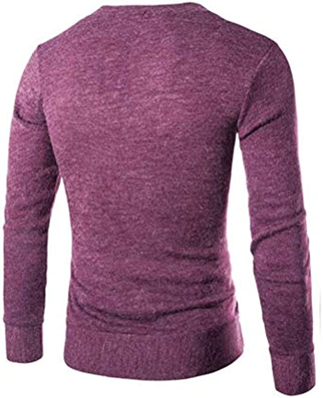 Męski sweter Basic V sweter dziergany sweter bluza męska moda wiosna szyi jesień normalny lakier długi rękaw sweter dziergany: Odzież