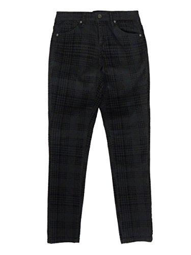 Anne Klein Women's Velvet Glen Plaid Skinny Jeans (0, ()
