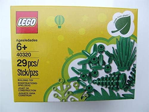 15279 LEGO 2 Pièce Plante Vert Olive Tige Papier Grass feuille plantes NEUF