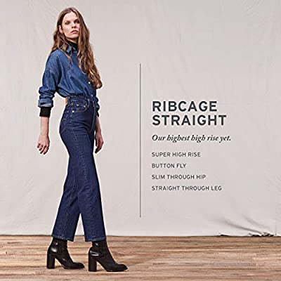 Levi's Women's Ribcage Straight Ankle Jeans at Women's Jeans store
