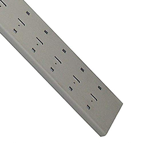 DIN RAIL 86.36MMX17.78MM SLOTTED (Pack of 2) (3TK2D-48)