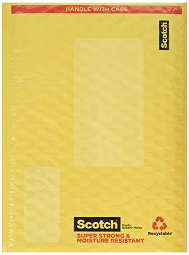 Scotch Smart Mailer, 6 in x 9 in, Size #0, 4-Pack (8913-4)