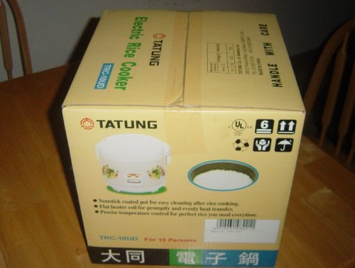 Tatung Trc-10ud 10 Cup Electric Rice Cooker