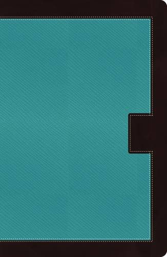 Read Online NKJV, Reference Bible, Giant Print, Leathersoft, Turquoise/Brown, Indexed, Red Letter Edition (Classic) pdf