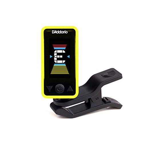 - D'Addario Accessories Eclipse Headstock Tuner, Yellow