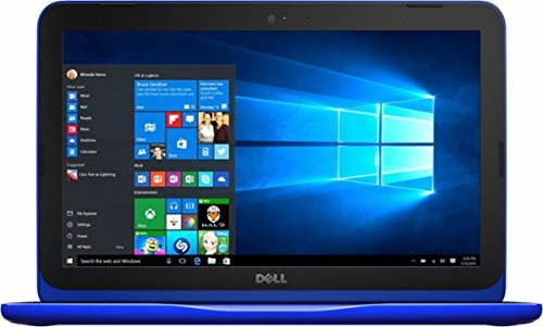 Dell Inspiron Flagship High Performance 11.6 inch HD Laptop PC | Intel Celeron N3060 | 4GB RAM | 32GB eMMC | MaxxAudio | HDMI | Windows 10 (Bali Blue)
