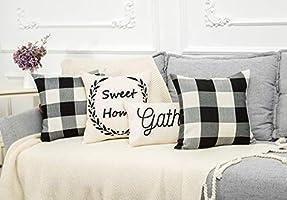 Amazon.com: AMZHOM Funda de almohada decorativa, funda de ...