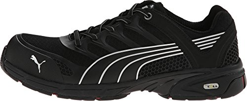 Men's Puma Safety Fuse Motion SD Low Safety Toe Shoes, Black/Black, 13D by PUMA (Image #1)