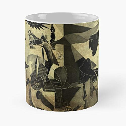 Pablo Picasso Guernica Artist - Ceramic Novelty Mugs 11 Oz, Funny Gift ()
