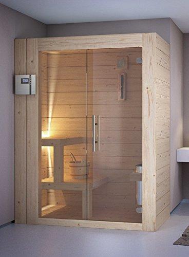 grandform Sauna Sauna Finlandés Estufa Eléctrica 6 plazas seduti, 2 sdraiati + 1 sentado.