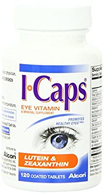 ICaps Lutein & Zeaxanthin Formula, Coated Tablets