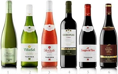 Caja de Vinos nº 2-4 Tintos, 1 Blanco y 1 Cava. D.O: Terra Alta, Catalunya, Somontano y Cava brut nature (6 x 0,75 L): Amazon.es: Alimentación y bebidas