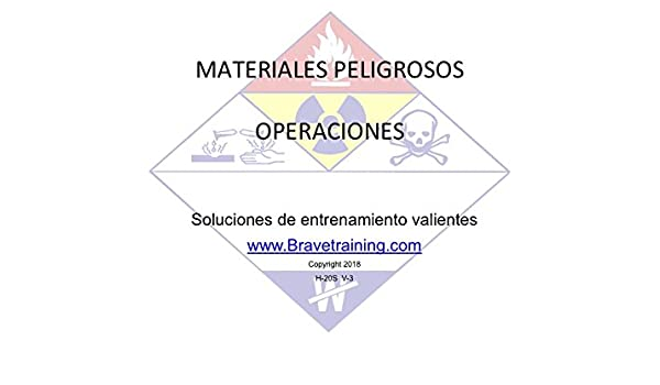 Amazon.com: SPANISH HAZMAT OPERATIONS PPT TRAINING PRESENTATION HAZARDOUS MATERIALS