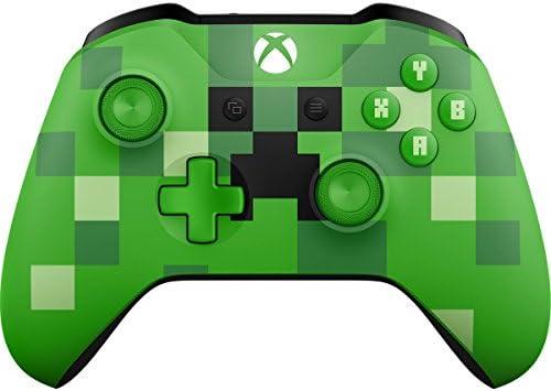 Microsoft Xbox Wireless Controller Minecraft Creeper - Volante ...