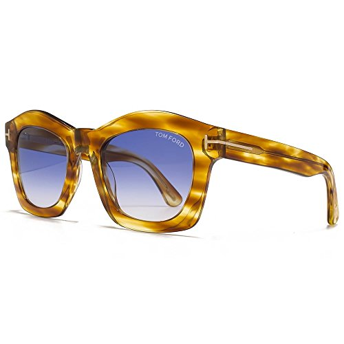 Sunglasses Tom Ford GRETA TF 431 FT 41W yellow/other/gradient blue