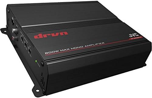 JVC KS-DR3001D 800W Peak DRVN Series Class-D 2-Ohm Stable Monoblock Power Amplifier
