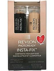 Revlon PhotoReady Insta-Fix Contour & Highlight Duo ,005 Medium Deep