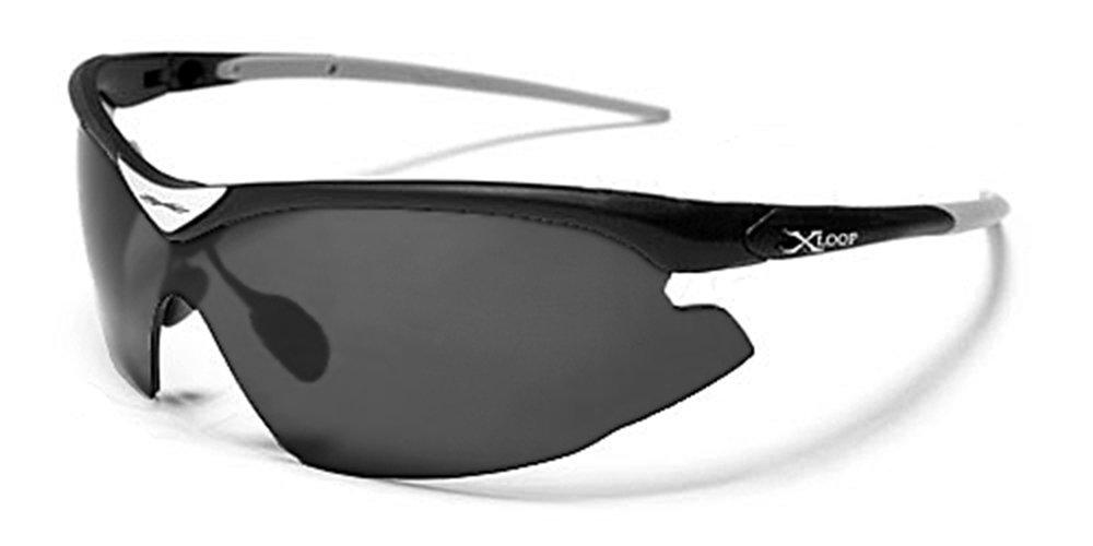 X-Loop Lunettes de Soleil - Sport - Cyclisme - Ski - Conduite - Moto   Mod.  1360 Noir   Taille Unique Adulte   Protection 100% UV400  Amazon.ca  Sports    ... d5a78399064d