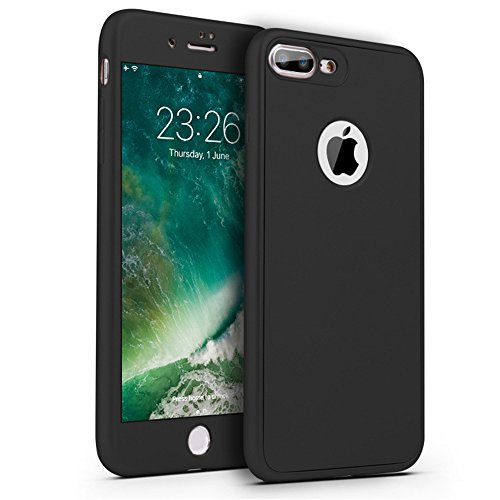 SE iPhone Matte Full with Slip Slim Apple 5 5S Vanki for Surface Screen Protector 360 Noir Tempered Coated Protection Case Non iPhone Case Glass SE Body Soft qZxr5YAfZw