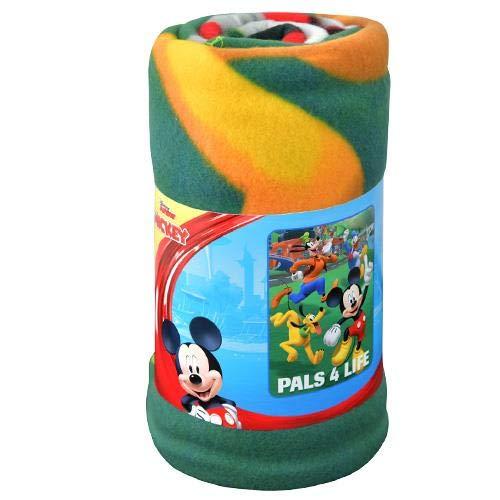 Blanket Mickey Mouse (Disney Mickey Mouse Roadster Racers 45x60 Fleece Throw Blanket)