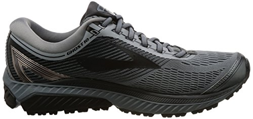 Brooks Scarpa da Ginnastica Fantasma 10, Grigio (Primer Grey/Metallic/Charcoal/Ebony), 44