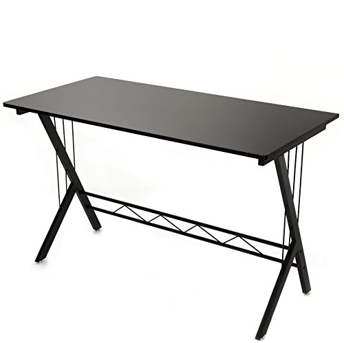 Gaming Desk Table Durable Workstation for Kids Room ,Home Office , Dorm Room , Black