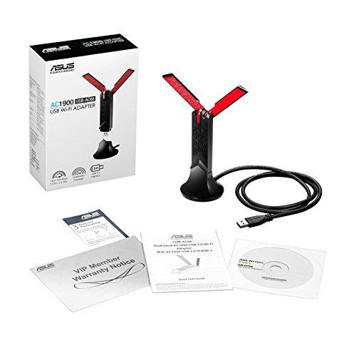 Asus USB-AC68 USB 3.0 802.11a/b/g/n/ac Wi-Fi Adapter