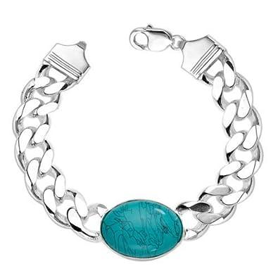 Alpasara Jewells Sterling Silver Salman Khan Turquoise Stone Stylist