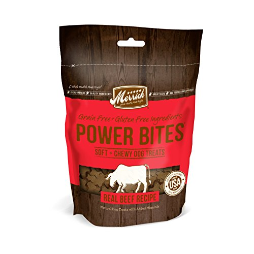 Merrick Power Bites Real Texas Beef Reci - Bites Dog Treats Shopping Results