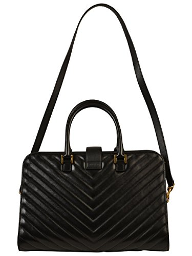 ysl black leather handbag