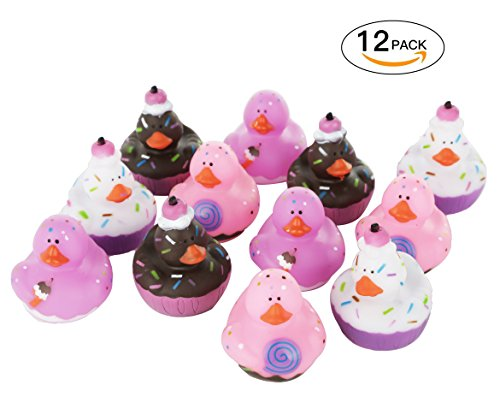Valentine Day Sweet Treat Rubber Duckies, 12 ct