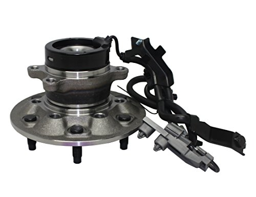 2WD ONLY - Brand New Front Left Wheel Hub and Bearing Assembly fits Canyon Colorado RWD Isuzu 6 Bolt W/ABS 515106