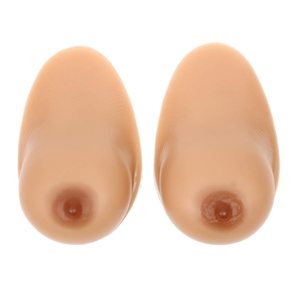 False Boobs Breast Forms Enhancer Silicone Prosthesis Fake Breast, E Cup