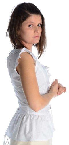 et pur mdival femme arrire rouge Beige XXXL Chemisier blanc HEMAD noir Front vert Blanc Coton S brun lacet pour w1WqXW5nBz
