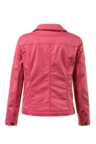 Jean Colorée Ulla Femme Grandes Tailles Hibiscus Popken Veste Rose 710271 n7SXOw