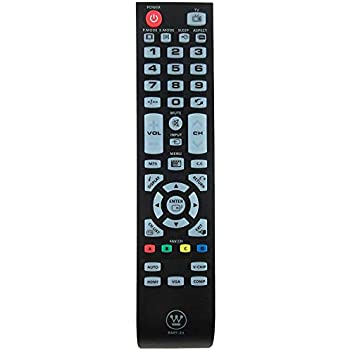 Manufatery Westinghouse TV remote Part: RMT-21. , Westinghouse CW40T2RW,,,,,,