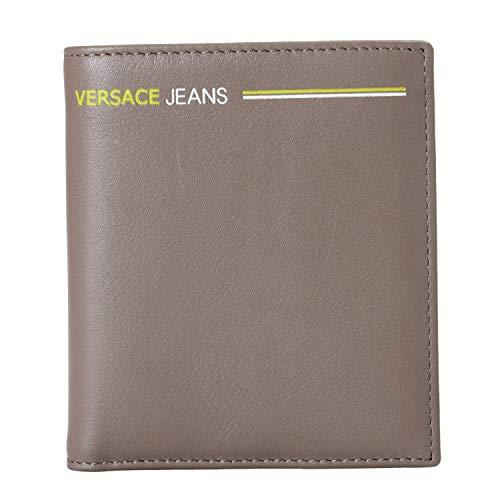 (Versace Jeans 100% Leather Gray Men's Wallet)