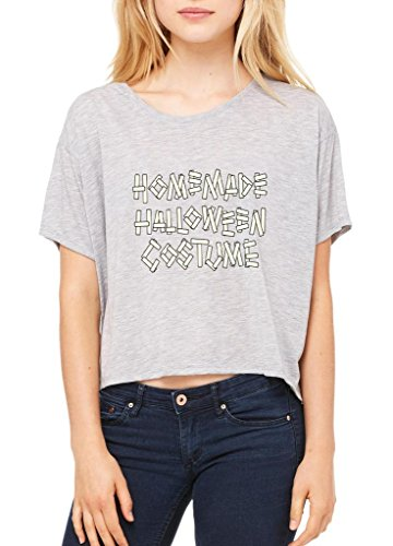 Blue Tees Homemade Halloween Costume Fashion Party People Best Friends Gift Couples Gifts Women Flowy Boxy T-Shirt Medium Athletic (Homemade Costume Dog Halloween)