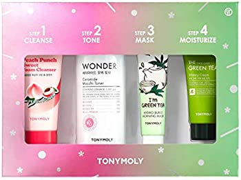 4-Pieces Tonymoly Four Steps For Glowing Skin Set