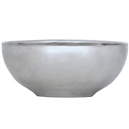 TukTek Kitchen Salsa Bowl Set of 4 Serving Dishes for Chips Dip & Snacks Made of Stainless Steel 8oz (4) by TukTek (Image #2)