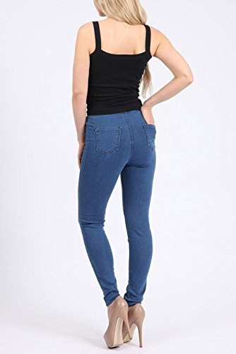 Jeans Bleu Missi Femme London bleu 5qqtX