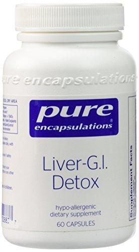 Liver G I Detox 60c Pure Encapsulations