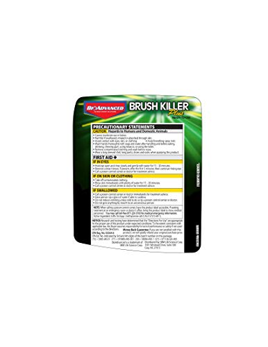 Amazon.com : BioAdvanced 704630D Triclopyr Kills Kudzu, Poison Ivy and Other Tough Brush Killer Plus Non-Selective Weed Grass Control, 24 oz.