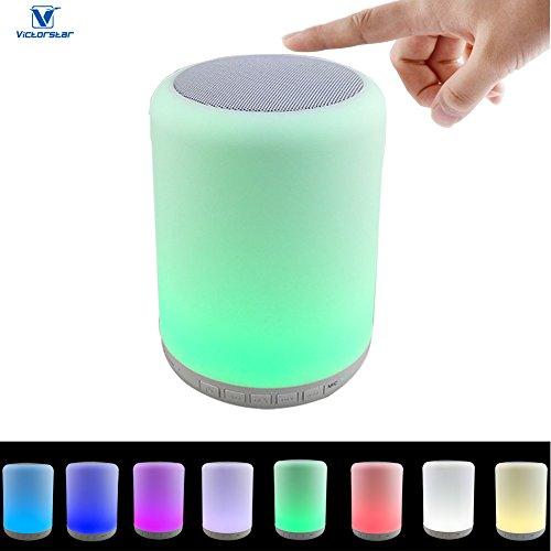 Bluetooth Led De Toucher Haut Y02w Parleur Lampe Victorstar edBCrxo