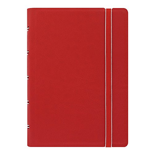 Filofax Notebook, Pocket Size, 5.5 x 3.5 inches,  Red (B115002U)