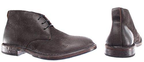 Grigio Italy Boots Desert Made Vintage MOMA Camoscio Uomo Pelle R2 Scarpe 66704 vt7ZHn8wq