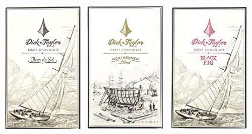 (Dick Taylor Chocolate Bars (3 Pack) (Best Sellers Trio))